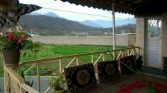 ویلا  کد -10    ویلا روستایی دوخوابه  با امکانات ومستقل