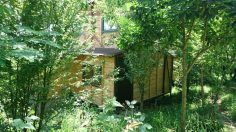 کد (12) -کلبه چوبی در داخل باغ نزدیک شهر ماسال