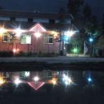 نمایی در شب از ویلا