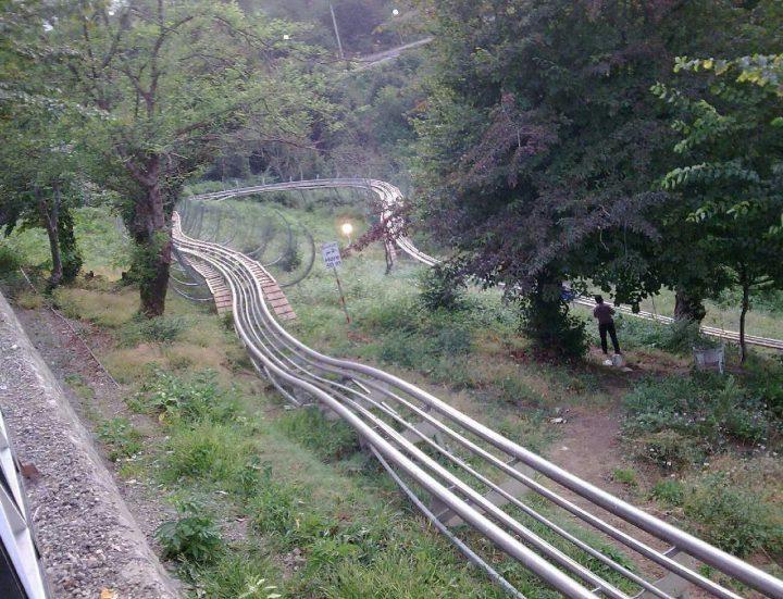 سورتمه ریلی تالش-کلبه جنگلی وحدانی-کلبه جنگلی درشمال